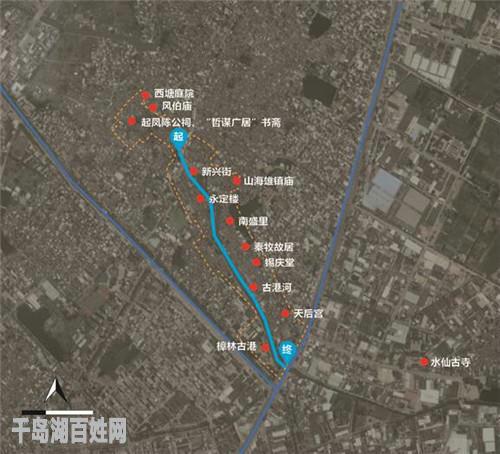 樟林古港沿线及周边旅游资源分布图
